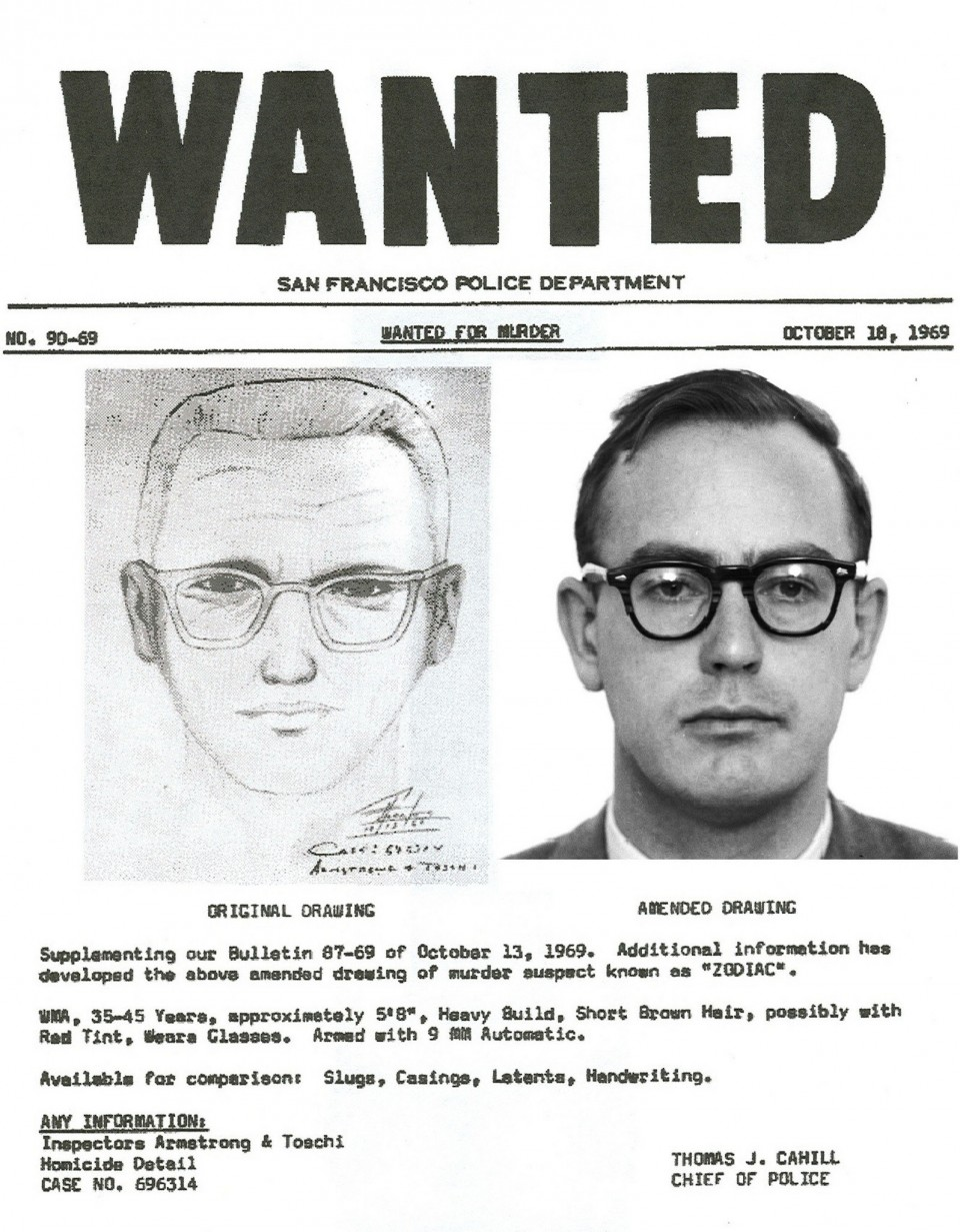 zodiac killer - photo #22
