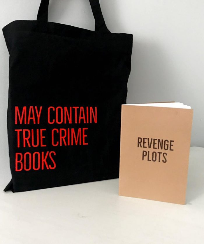 TRUE CRIME BOOK BAG