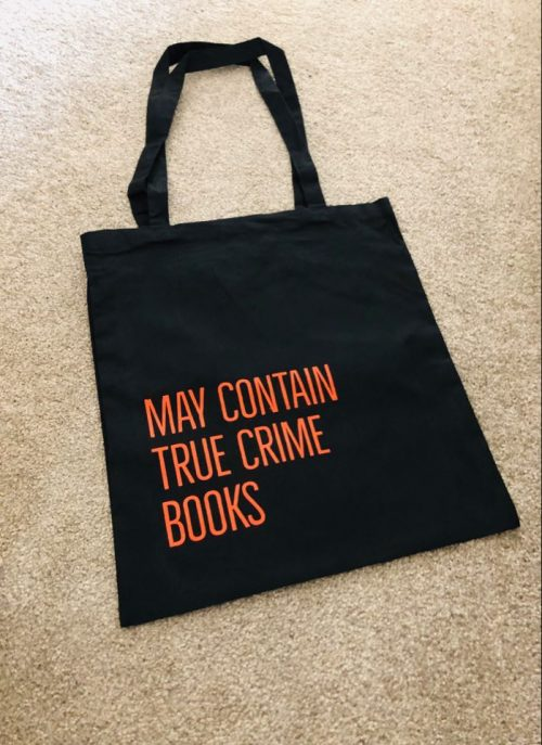 TRUE CRIME BOOK BAG