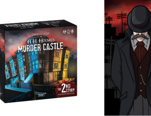 Can You Survive Crimes in History: H. H. Holmes' Murder Castle Board Game?