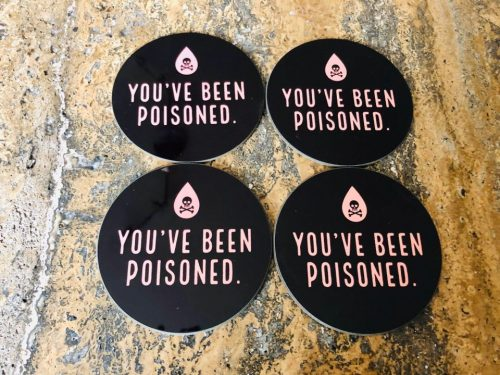 TRUE CRIME POISON COASTER