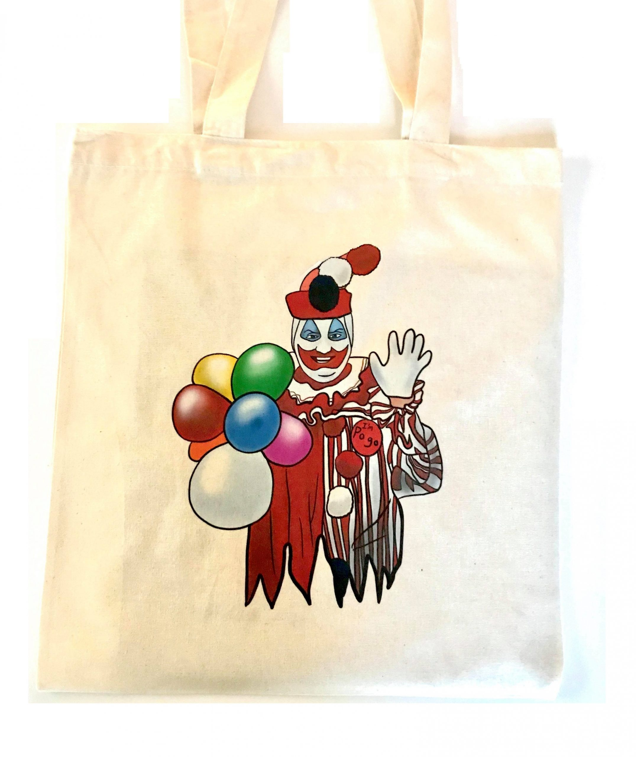 Pogo Clown Tote Bag
